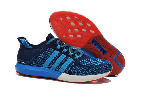 Mens Aidas Boost Clima Chill Vivid Blue - Deep Blue Online Shop